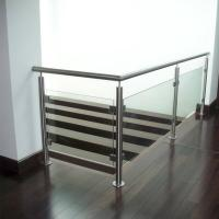 Quality Indoor Stainless Steel Tempered Glass Railings Handrail Philippines for sale