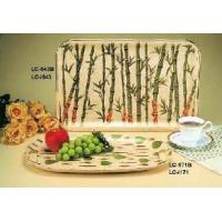 Quality China Bamboo Serving Tray for Tea/Restaurant/Tableware/Kitchenware/Kitchen Implement for sale