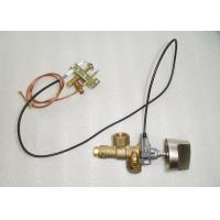 China Brass Gas Safety Valve With Piezoelectric Igniter , SV32 Gas Stove Control Valve on sale