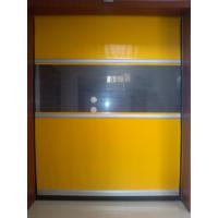 Quality Heavy Duty PVC Rapid Roller Doors Rust Proof 900 / 800N Tearing Strength for sale