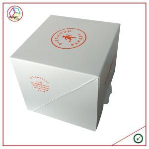 China Paper cupcake box on sale