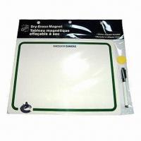 Quality Fridge Whiteboard Magnet, Eco-friendly, Ideal for Promotional Gift, Customized Designs/Sizes Welcome for sale