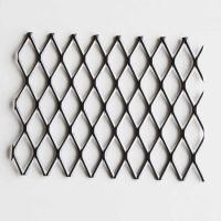 Quality 1/2 #18 Carbon Steel Expanded Metal Mesh Flat For Security Partitions for sale