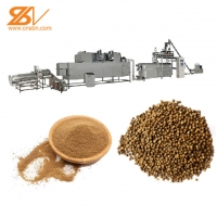 Quality SS304 Fish Feed Extruder 200-260kg/Hour Fish Food Making Machine for sale