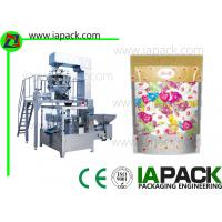 Quality Zipper Pouch Packing Machinery Stand-up Zipper Pouch Rotary Packing Machine For candy for sale