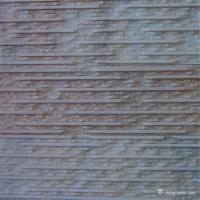 Quality Pink And White Color Quartzite Stone Veneer , Natural Thin Stone Veneer Panels for sale