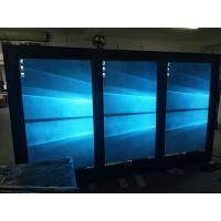 Quality 1 By 3 Narrow Bezel LCD Video Wall Capacitive Touch With Fan Cooling for sale