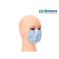 Quality Cartoon Child 3 Ply Earloop Disposable Surgical Face Mask for sale