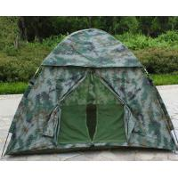 Travel Camo Waterproof Nylon Fabric Tent , Outdoor Camping Gear