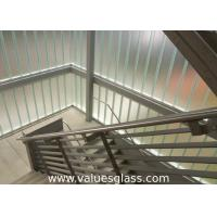 Buy Low Iron Tempered U Shaped Glass 262(W)X60(H)X7(T) Mm Dimension Building Material at wholesale prices