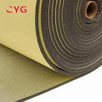 Quality Self Adhesive Construction Heat Insulation Foam With Aluminium Foil One Side for sale