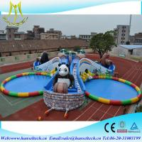 China Hansel good sale custom inflatable pool toy in the lake and sea on sale