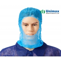 Quality Unimax 35gsm Disposable Non Woven Hood for sale