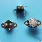 Quality Silver Loose Bracket Bakelite Ksd301 Bimetal Thermostat 16A 250V for sale