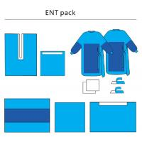 Quality Sterile ENT Set Health Care Customized, Non - Woven Disposable Surgical Packs for sale