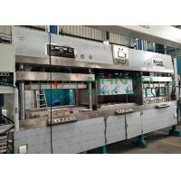 Buy cheap Semi-Auto Disposable Bagasse Paper Plate Making Machine with 1100*800mm from wholesalers