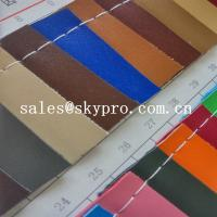 Quality Customized New Style PVC Synthetic Leather For Sofa Bag With Polyester Backing for sale