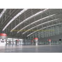 Quality Waterproof Project Houses Steel Roof Trusses , Prefab Roof Trusses for sale