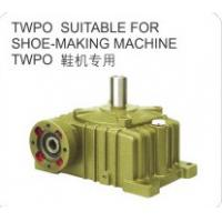Quality Cast Iron Shell Worm Reduction Gear Suitable for Shoe-making Machine Made in China for sale