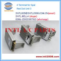 Quality 4 Terminal Heater Blower motor resistor for Spal Red Dot Unit 3 Speed(s) control unit Chin for sale
