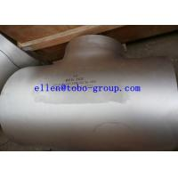 Quality TOBO STEEL Group ASTM A815 WPS32760 reducing tee ASME B16.9   A815 / A815M Standard for sale