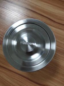 Quality Stainless Steel Kitchen Sink Strainer Bathroom Sink Waste Kit 18G Stainless Steel Dish Sink Strainer for sale