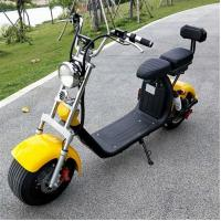 Quality 1500W 60V 12ah lithium battery One Wheel Electric Motorcycle 2 wheel citycoco electric scooter for adults for sale