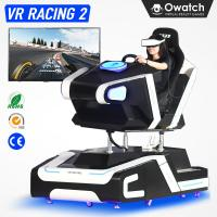 Quality 2nd Generation 9D VR Racing Car Driving Simulator Virtual Reality Race Games Machine for sale
