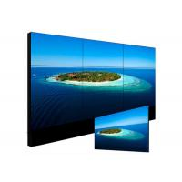 Quality 3mm Pixels Indoor LCD Video Walls TFT 55 Inch Display HDM VGA BNC And DVI Input for sale