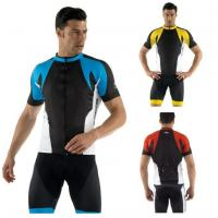 Quality Road Bike Team Cycling Jerseys Cycling Wear with Full Length Zipper for sale