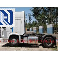 Quality SINOTRUK STEYR 371HP 15 Ton Prime Mover Truck in Green , Manual Unloading Diesel Trucks , Global Machine for sale