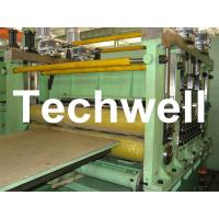 Quality 2 - 10mm * 2200mm Steel Sheet Cut To Lenght Machine Line With Normal Speed for sale