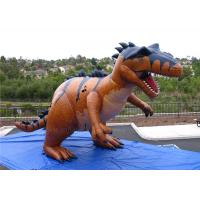 Quality Life Sized Inflatable Dinosaur Giant Jurassic World Fire Resistant for sale