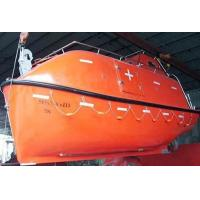 China Marine life boat, fiberglass life boat,partially enclosed life boat and rescue boat on sale