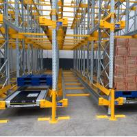 Quality High Space Saving Steel Radio Shuttle Racking System Warehouse Storage for sale