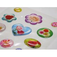 Quality crystal sticker polypropylene 3m adhesive sticker for sale