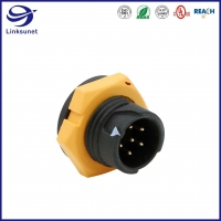 Quality Standard IP67 PA Waterproof Circular Connectors For Led Screen for sale