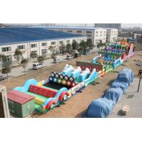 Quality inflatable obstacle bouncer, giant inflatable obstacle combo,inflatable obstacle course for sale