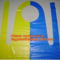 Quality waterproof pe aprons, disposable, aprons, LDPE apron, HDPE apron, PE apron for sale