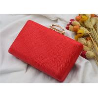 Buy cheap Summer Female Party Wedding Evening Clutch Bags , Ladies Clutch Bags With Ring from wholesalers