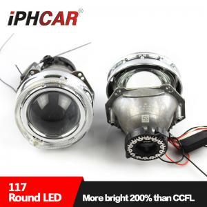 China IPHCAR 4300K 5500K 6000K Hid bi-xenon Projector Lens LHD/RHD Toyota Car Headlight Angel Eye Projector on sale