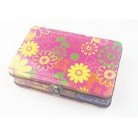 Quality Rectangle Metal Lunch Suitcase Custom Own Design With Lock And Handle for sale