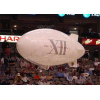 China Helium Inflatable Advertising Balloons 3m White Inflatable Outdoor RC Blimp wholesale