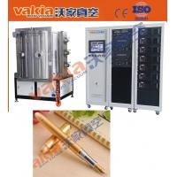 Buy cheap PVD Gold Plating Machine on Pen, TiN Vacuum Coating Equipment Heat Resistant from wholesalers