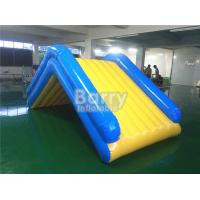 China Commercial 4 * 2 * 2M Floating Water Inflatable Slide With 0.9mm PVC Tarpaulin wholesale