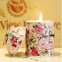 Quality Luxury Tin Scented Candle Handmade Jar Candles for sale