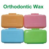 Buy Colored Dental Orthodontic Wax Rubber For Relieves Irritation at wholesale prices