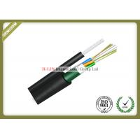 Figure 8 Self Supporting Outdoor Fiber Optic Cable For Aerial With Steel Tape