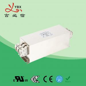 Quality Yanbixin 50A Terminal Block RFI Power Filter / Mains Rfi Filter Metal Case for sale
