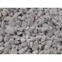 Quality sell snow white marble chippings for sale
